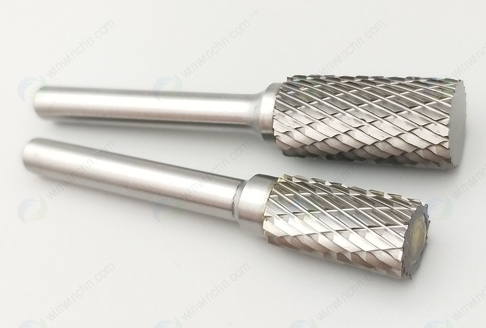 Tungsten Carbide Cylinder Shape Burs   (Without End Cut)