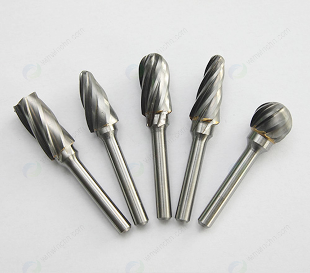 Tungsten Carbide Nonferrous Cut Burs(Aluminum Cut Burrs)