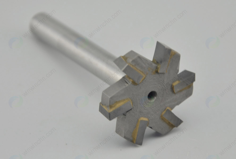 Carbide Tipped T- Slot Milling Cutter